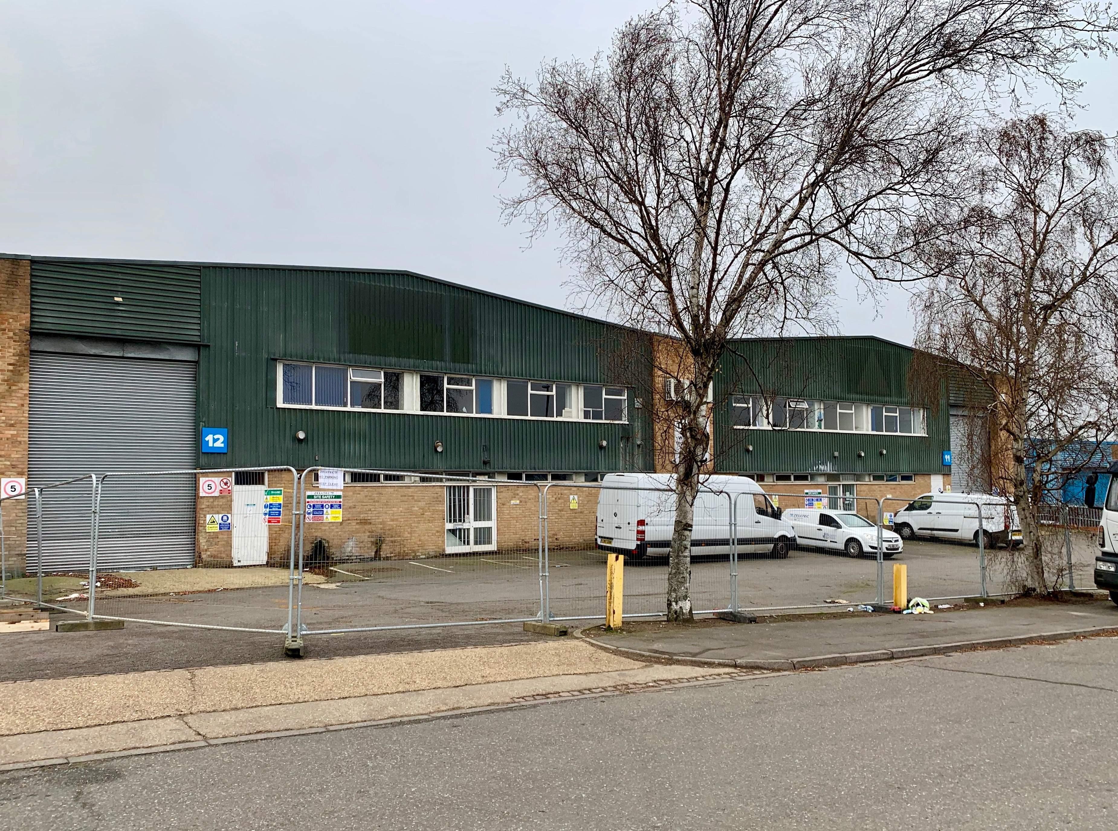 11/12 Stadium Industrial Estate Luton Under Refurbishment January 2019