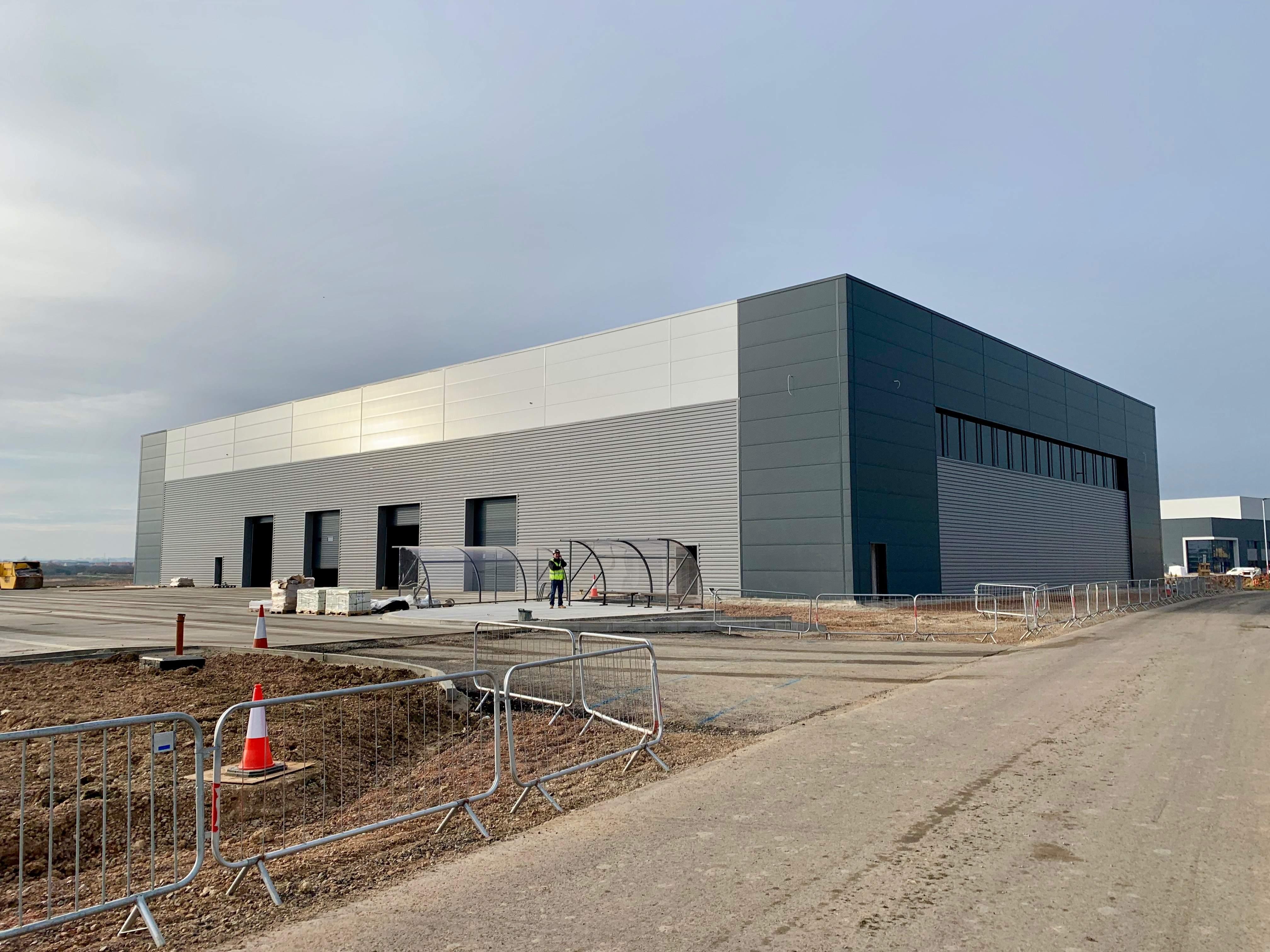 Unit 4 Bedford Link Logistics Park Adroit External Jan 2019