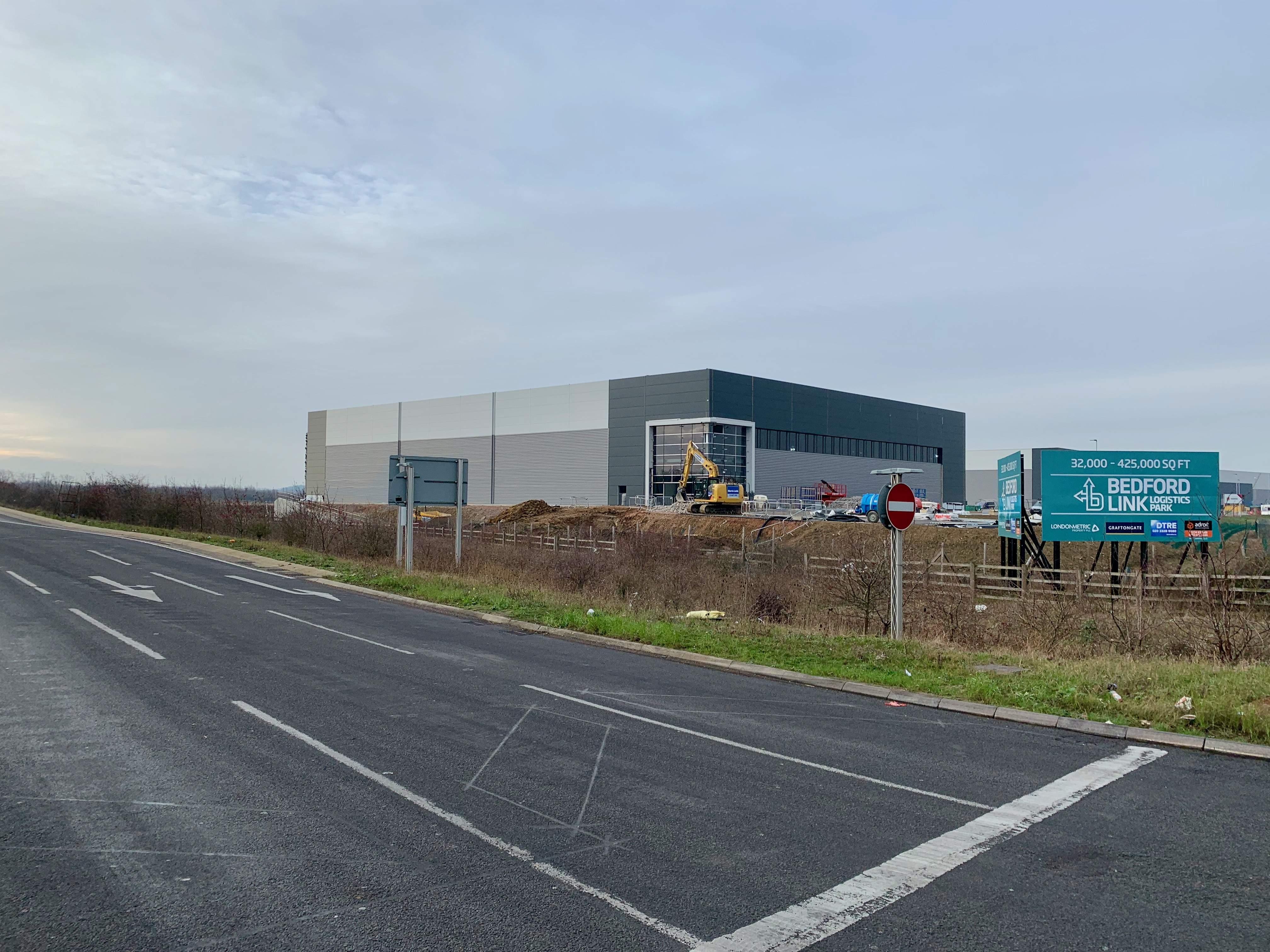 Unit 5 Bedford Link Logistics Park Adroit External Jan 2019